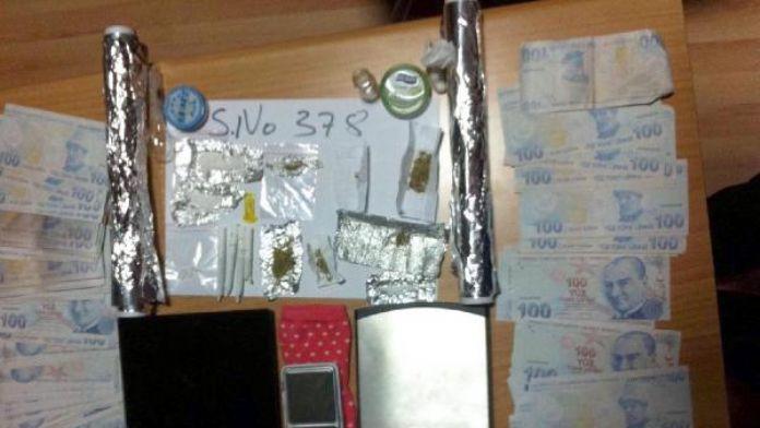Kayseride uyuşturucu operasyonu 4 gözaltı