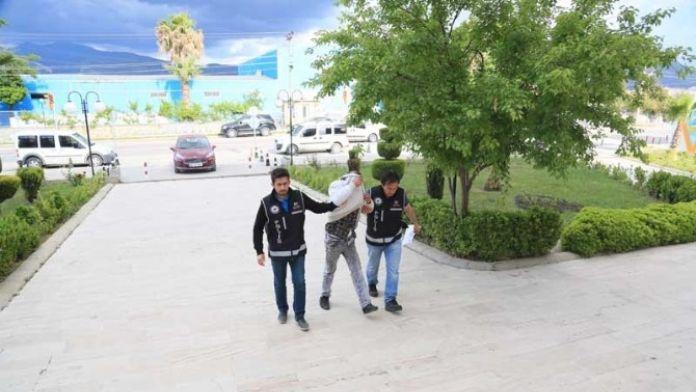 Milas'taki Uyuşturucu Operasyonunda Tutuklama