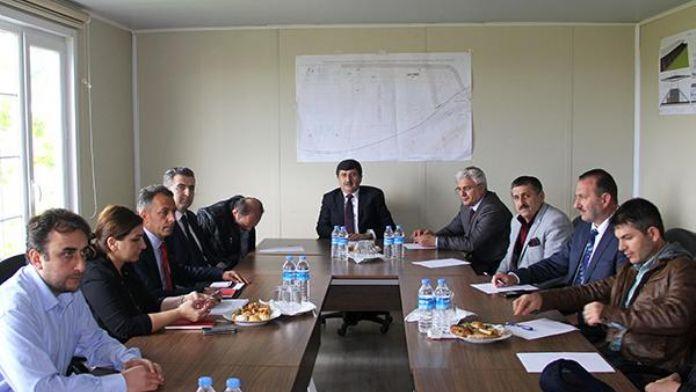 Trabzonspor'un yeni mabedi Akyazı için koordinasyon toplantısı yapıldı