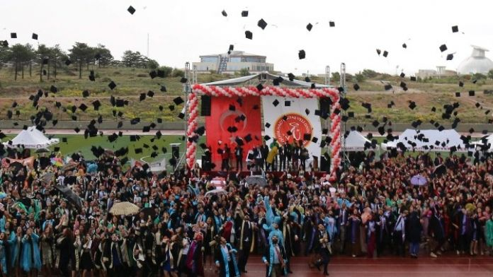 NEÜ'de 2 Bin 990 Öğrenci Mezun Oldu