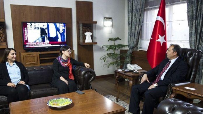 TEMA Vakfı Yönetim Kurulu Başkanı Deniz Ataç, Vali İbrahim Taşyapan'ı Ziyaret Etti