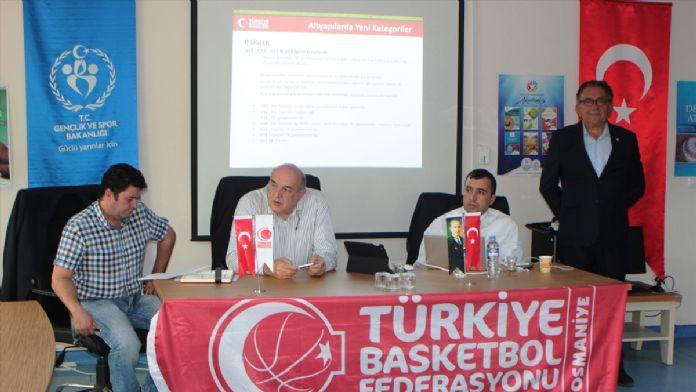 Basketbol il temsilcileri, Osmaniye'de toplandı