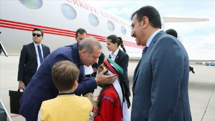 Cumhurbaşkanı Erdoğan, Malatya'ya geldi