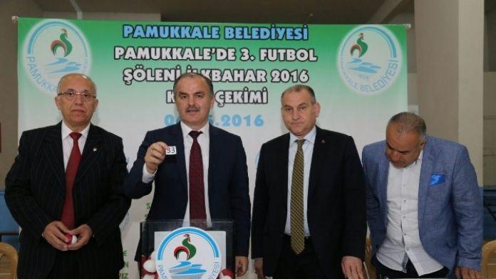 Pamukkale Belediyesi'nde Futbol Turnuvası İçin Kura Çekimi Yapıldı