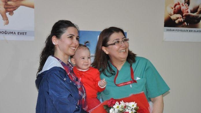 Erzincan'da Normal Doğuma Dikkat Çekildi