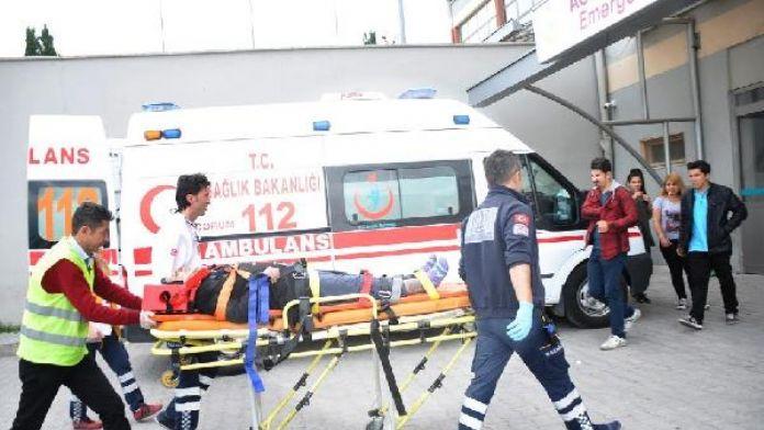 Çorum'da kaza : 5 yaralı