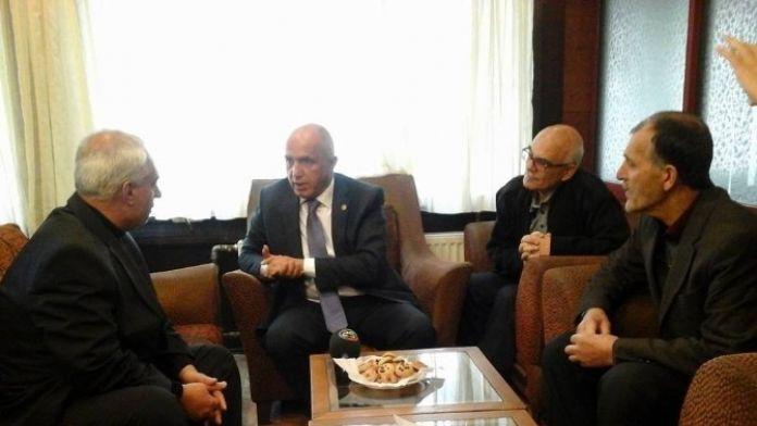 AK Parti Milletvekili Mustafa Ilıcalı, Emekliler Derneği Yönetimi İle Bir Araya Geldi