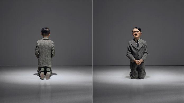 Diz çöken Hitler heykeline 17.2 milyon dolar