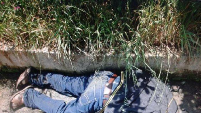 Eşini sulama kanalında ölü buldu