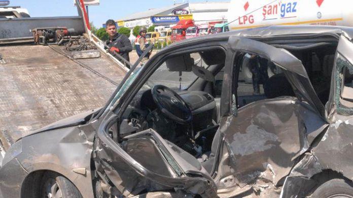 Diyarbakır'da hatalı sollama : 1 ölü, 6 yaralı