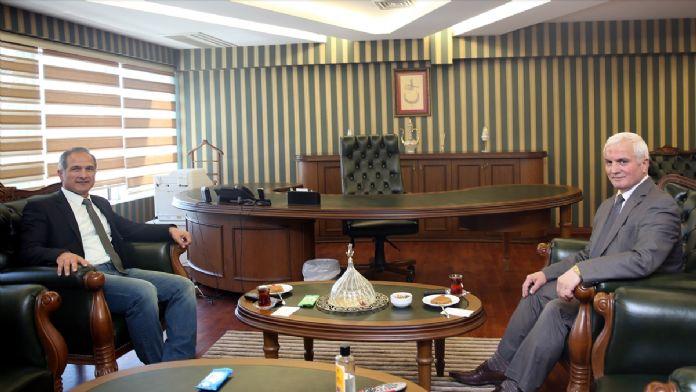 İstanbul Vali Yardımcısı Ateş'ten AA'ya ziyaret