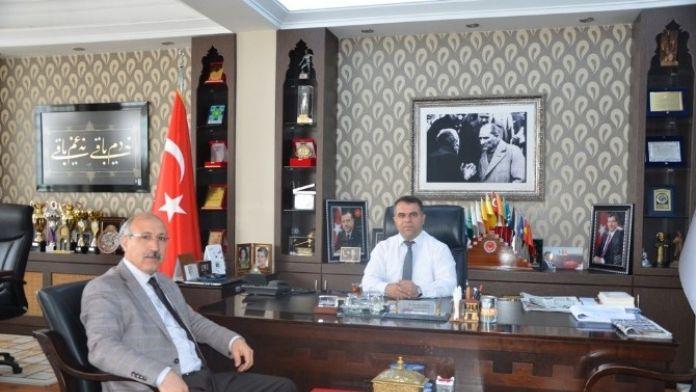 Başkan Aksoy'a Davet Ziyareti