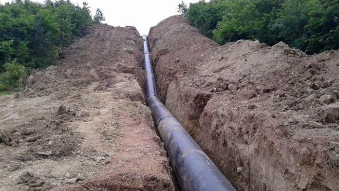 Akçay Barajı'nda Çelik Hat Tamamlanıyor