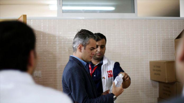 TİKA'dan Gazze'ye tıbbi malzeme yardımı