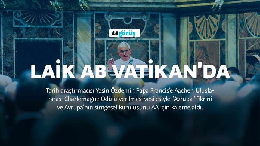 Laik AB Vatikan'da