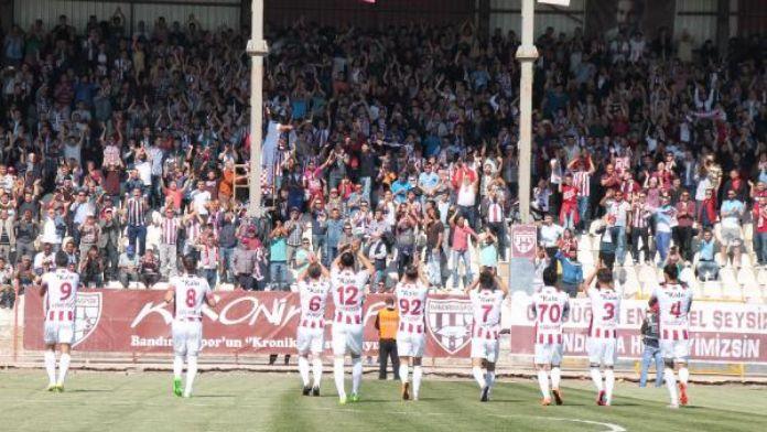 Bandırmaspor-Hacettepespor: 2-0