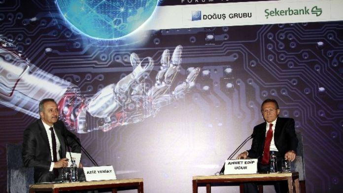 Başkan Uğur Forum İstanbul Zirvesine Katıldı