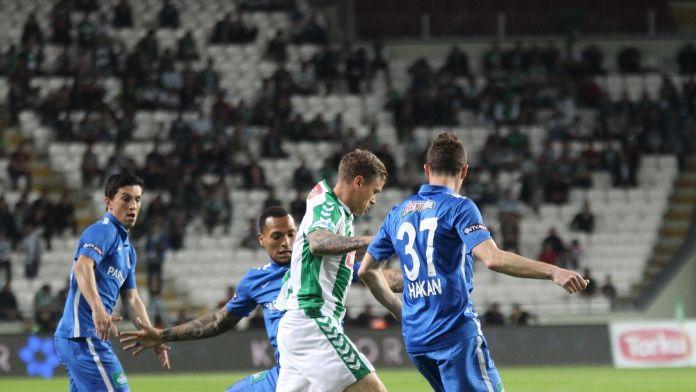 Konyaspor evinde Kasımpaşa'yı mağlup etti