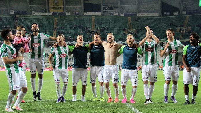 Konyaspor, Avrupa'yı garantiledi