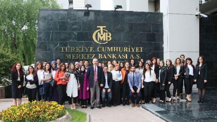 NEÜ Uygulamalı Bilimler Yüksekokulundan Merkez Bankasına Ziyaret