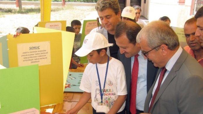 Fakılı Ortaokulunda '4006 TUBİTAK Bilim Fuarı' Açıldı