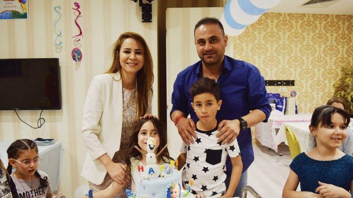 Hasan Şaş'ın kızı 7 yaşına bastı