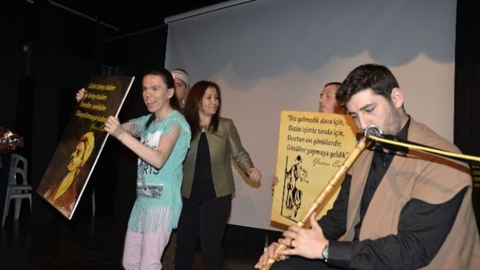 Engelli Bireylerden Yunusemre'de Şiir Ve Müzik Dinletisi