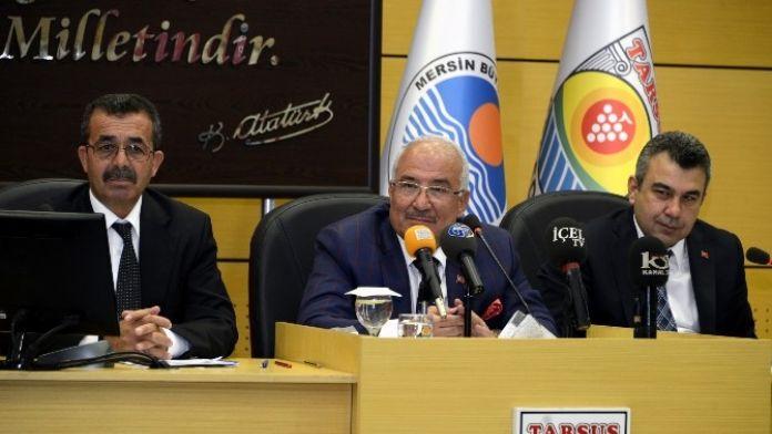 Mersin Büyükşehir Belediye Meclisi Tarsus'ta Toplandı