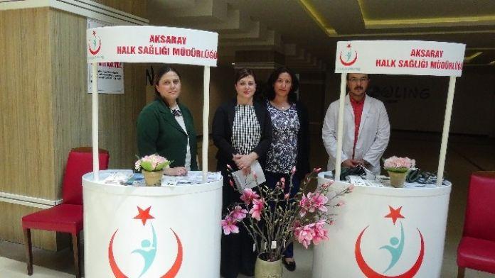Dünya Talasemi Günü'nde Aksaray'da Talasemi Anlatıldı