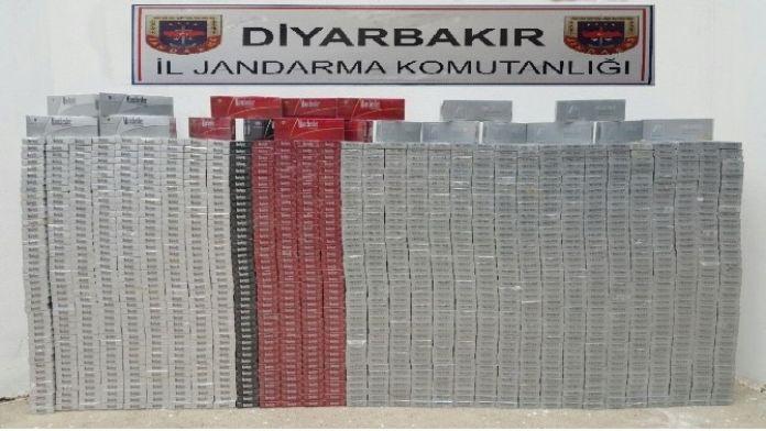 Diyarbakır'da 14 Bin 130 Paket Kaçak Sigara Ele Geçirildi