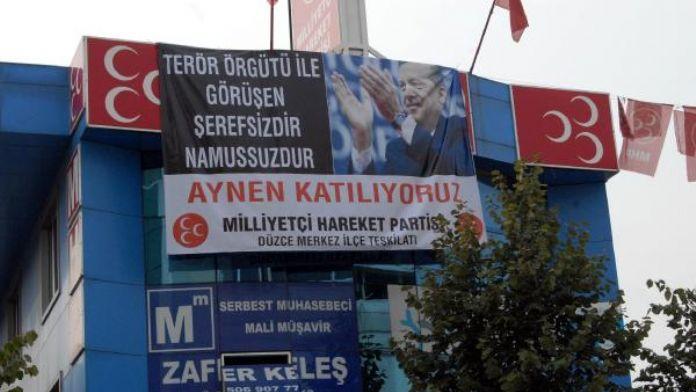 MHP Düzce Merkez İlçe Başkanı'na, 'Cumhurbaşkanına hakaret' davası