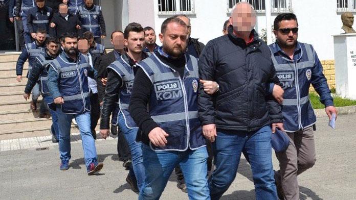 FETÖ/PDY operasyonlarında 689 kişi tutuklandı
