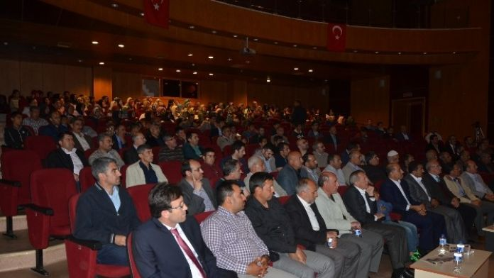Akyad'ın Kahta'daki Konferansı Büyük İlgi Gördü