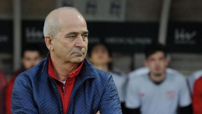 Samsunspor'da Korukır takımının başında
