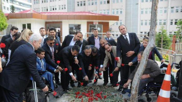 Gaziantep'te engelliler teröre tepki için birleşti