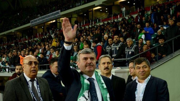 Başkan Akyürek Konyaspor'a Avrupa Kupalarında Başarılar Diledi