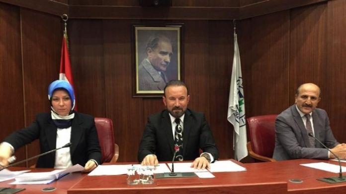 İzmit Belediyesinin Meclis Toplantısı Yapıldı