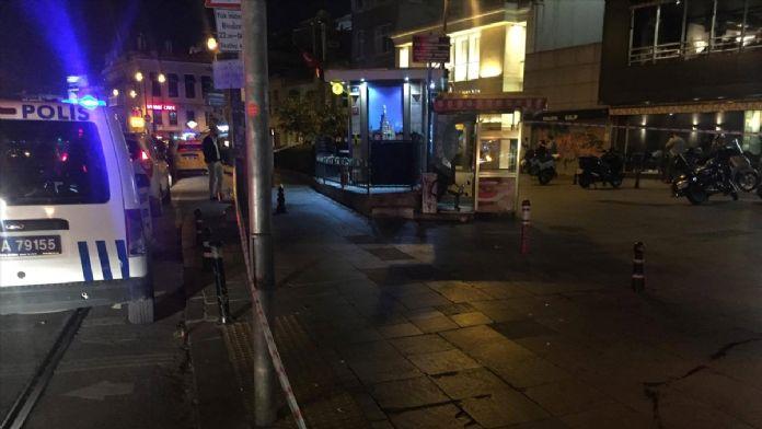 Kadıköy'de silahlı yaralama