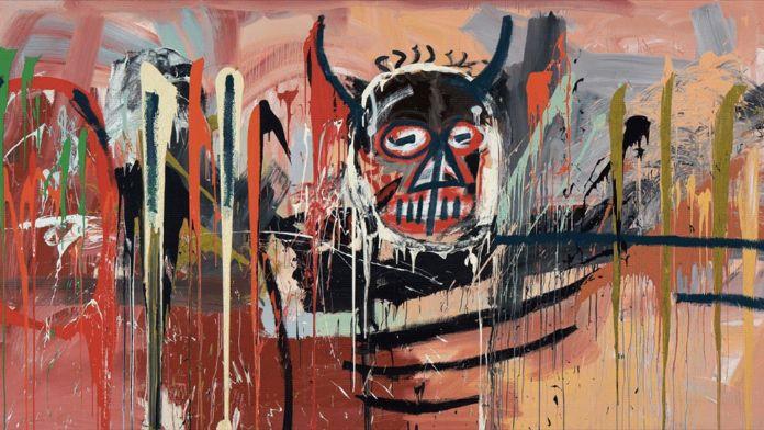 Basquiat'ın portresi 57,3 milyon dolara satıldı