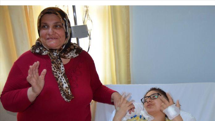Çanakkale'de işitme engelli kadına böbrek nakli