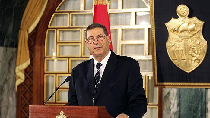 Tunus Başbakanı Sıyd Rabat'ta açıklama yaptı