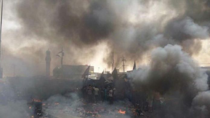 Bağdat'ta patlama: 8 ölü 25 yaralı