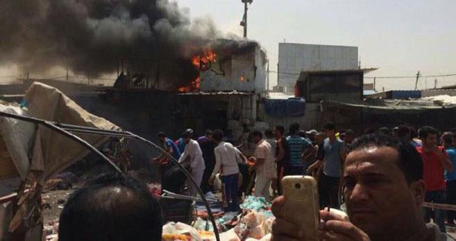 Bağdat'da Patlama;8 Ölü,25 Yaralı
