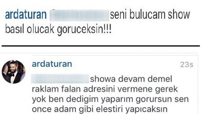 Arda Turan'dan takipçisine: Seni bulacağım !