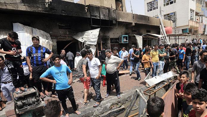 Bağdat'ta bombalı saldırı: 20 ölü 70 yaralı