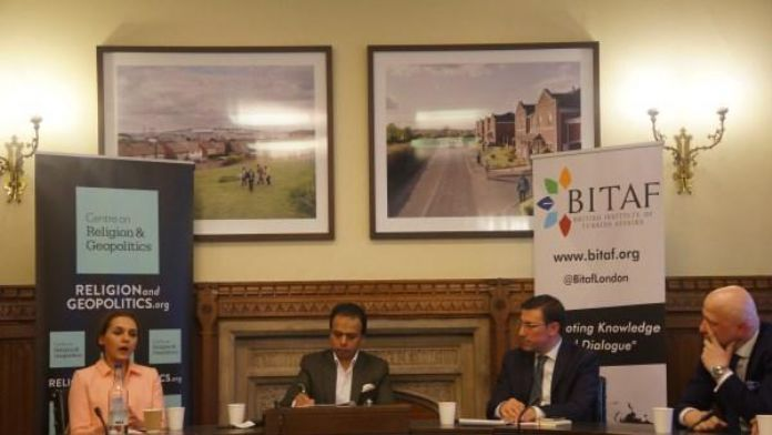 AK Parti Milletvekili Talip Küçükcan İngiltere Parlamentosu'nda Konuştu