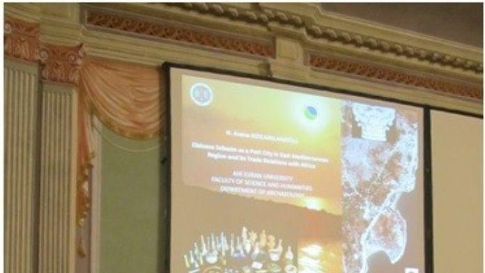 Ahi Evran Üniversitesi Arkeoloji Bölümü Araştırma Görevlisi Kızılarslanoğlu Viyana'da Sempozyuma Katıldı