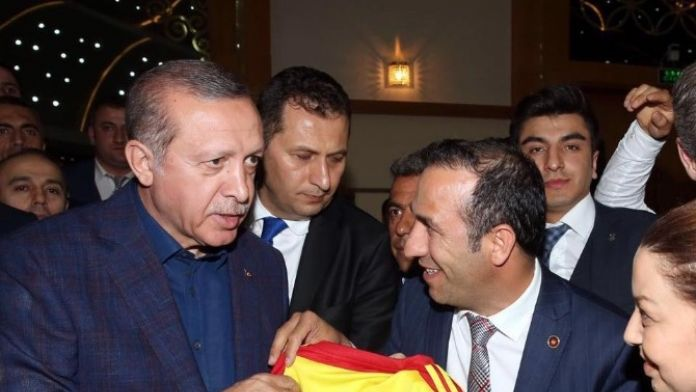 Cumhurbaşkanı'na Alima Yeni Malatyaspor Forması