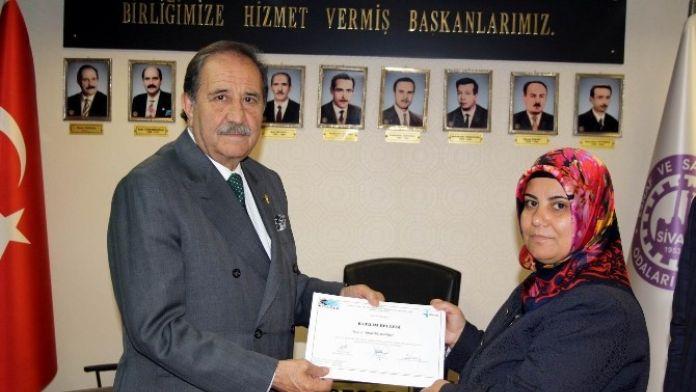 Sivas'ta Uygulamalı Girişimcilik Eğitimi
