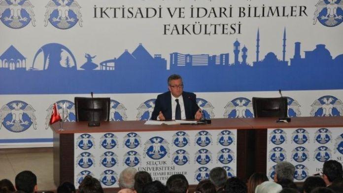 Selçuk'ta, 'Başka Bir Kamu Yönetimi Mümkün MÜ?' Konferansı